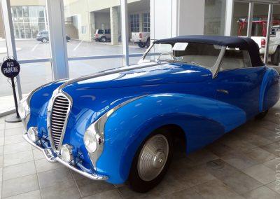 1948 Delahaye 135 MS Faget Varnet Cabriolet
