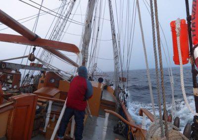 Rough Sailing Hawaiian Chieftain