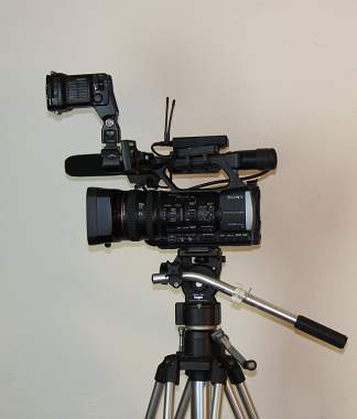 Hire a videographer with video and sound editing